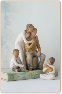 Willow Tree Figurine - Caring Child - thumbnail 1