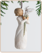 Willow Tree Ornament Collection - Beautiful Wishes