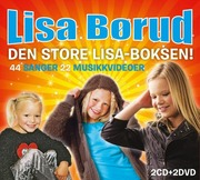 Den store Lisa-boksen  2CD + 2DVD
