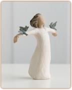 Willow Tree Figurine - Happiness