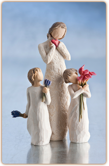 Willow Tree Figurine - Lavender Grace  - slideshow 1