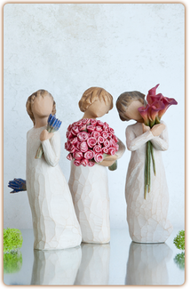 Willow Tree Figurine - Lavender Grace  - slideshow 2