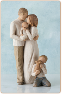 Willow Tree Figurine - Our Gift  - slideshow 1