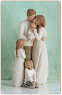 Willow Tree Figurine - Our Gift  - slideshow 2