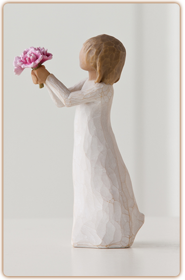 Willow Tree Figurine - Thank You  - slideshow 1