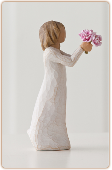 Willow Tree Figurine - Thank You  - slideshow 3