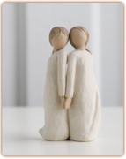 Willow Tree Figurine - Two alike