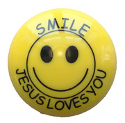 Magnet : Smiley : Jesus loves you