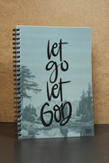 Notatbok : Let go let God