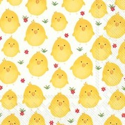 Servietter Sweet Chicks Lunch 20 pk